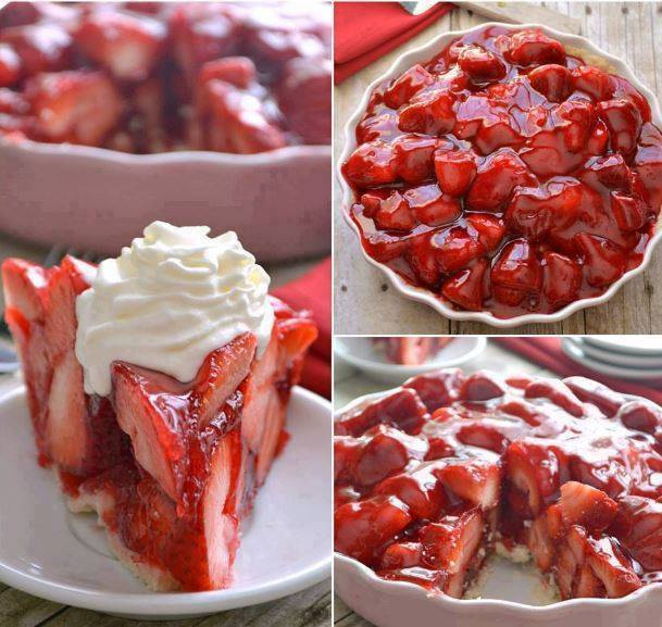 STRAWBERRY PIE!!! Doesn't this look amazing