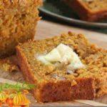 Snickerdoodle Pumpkin Walnut Bread (YUM YUM)  Makes 2 loaves…