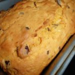 Sweet Potato, Cranberry and Apple Bread