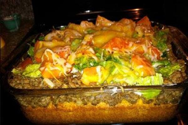Taco Cornbread Casserole Best Cooking Recipes In The World