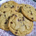 The Best Chewy Cafe-Style Chocolate Chip Cookies