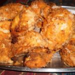 YUMMY OVEN BAKED FRIED CHICKEN
