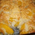 grandmothers favorite peach cobbler