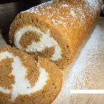 pumpkin roll for Christmas