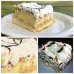 Easy 3 Ingredient No Bake Pudding Cake