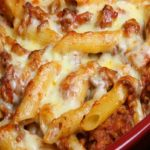 Serve Your Loved Ones A Dish Filled With Cheesy Love: Baked Rigatoni