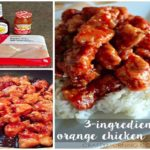 3-INGREDIENT ORANGE CHICKEN!!!