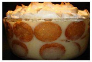 Baby's Southern Banana Pudding