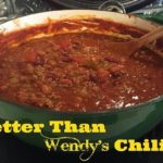 Better Than Wendy's Chili