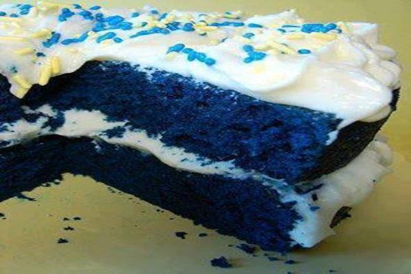 Blue Velvet Cake From Scratch