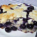 Blueberry Dumpling Cobbler