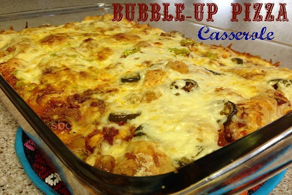Bubble Up Pizza Casserole – Best Cooking recipes In the world