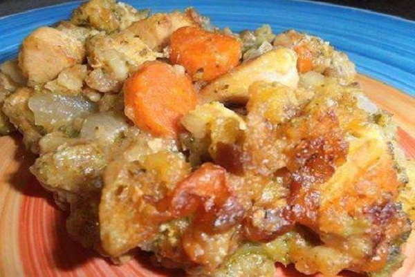 Crock Pot Chicken Casserole