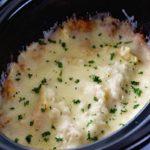 Crock Pot Garlic Chicken Alfredo Lasagna – Easy Like Sunday Morning