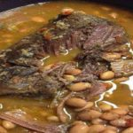 Crock Pot Roast with Pinto Beans