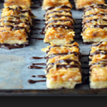 Homemade Samoas Bars