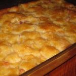 "Lazy Man's"" Pie- Peach Cobbler"