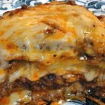 MEATY EGGPLANT LASAGNA ~ Low Carb