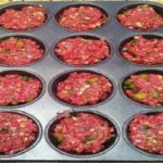 Make meatloaf in a muffin pan- it cooks in 15 minutes!