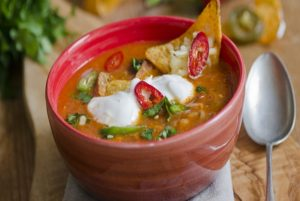 Melt Away Those Cold Nights With A Piping Hot Bowl Of Chicken Tortilla Soup