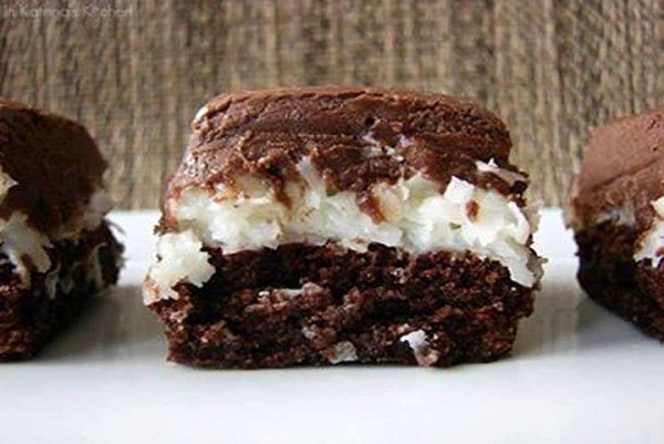 Mounds Candy Bar Brownies Best Cooking Recipes In The World
