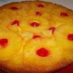 Pineapple & Cream Cheese Upside Down Cake
