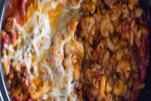 Pizza Pasta Crock Pot Surprise!