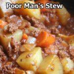Poor Man's Stew