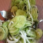 Simple And Savory Traditional German Cuke Salad