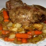 Slow Cooker Top Round Roast with Potatoes & Vegtables