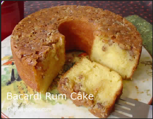 Golden Rum Cake Best Cooking Recipes In The World