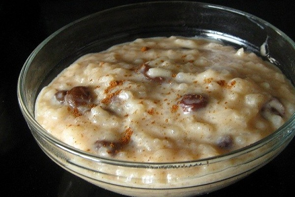 Baking Rice Pudding Cake