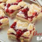 Cherry Pie Bars! Tasty AND Pretty!