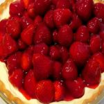 Fresh Strawberry Pie Topped Cheesecake…The Ultimate Skinny Dessert