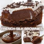 French silk Pie Brownie