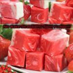 No Bake Strawberry Swirl Fudge