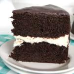 Chocolate and Cream Cake