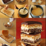 Homemade Crispy Candy Bars Recipe